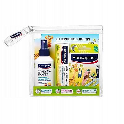 Hansaplast Junior Pack Universal 20pcs & Wound Spray 100ml & Wound Healing Cream 50gr