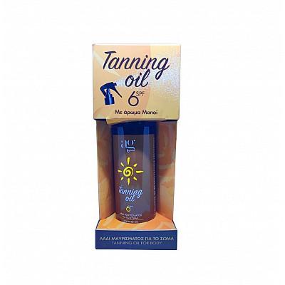 Ag Pharm Tanning Oil SPF6 Tanning Oil with Monoi Aroma 150ml