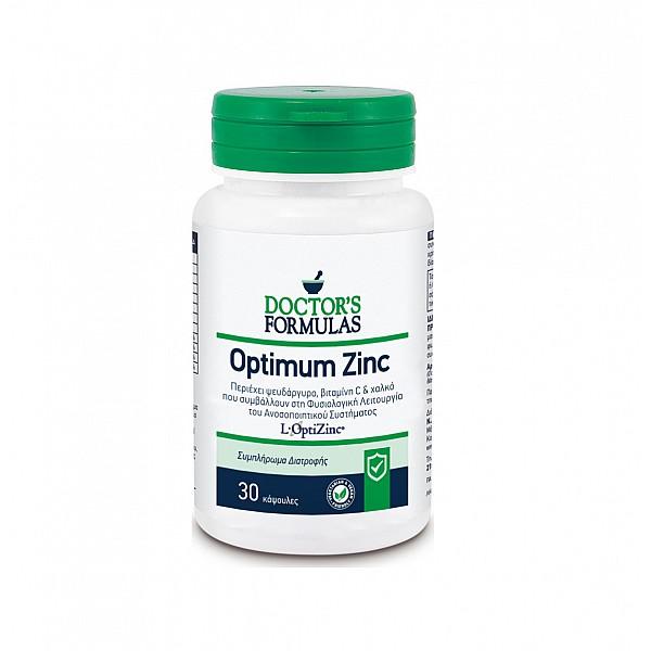 Doctor's Formulas Optimum Zinc with Zinc that Strengthens the Immune System, 30caps