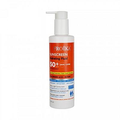 FROIKA - Sunscreen Hydrating Fluid SPF50,  250ml