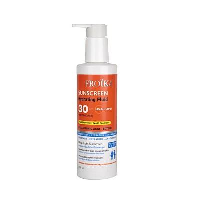 Froika Sunscreen Hydrating Fluid SPF30,  250ml