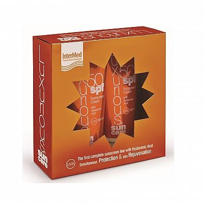 INTERMED Pack Luxurious Face Cream SPF50 75ml & Luxurious Sunscreen Body Cream SPF50 200ml