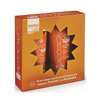 Intermed Luxurious Medium Protection Face Cream SPF50 75ml & Sunscreen Cream SPF30 200ml